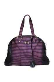 Crocodile Embossed Muse Tote -Pre Owned Condition Gently Loved