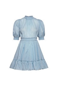 Victorian Organza Smocking Dress