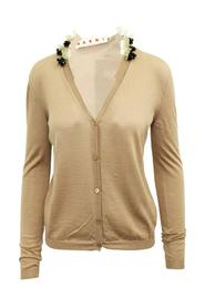 Cardigan With Embellishments