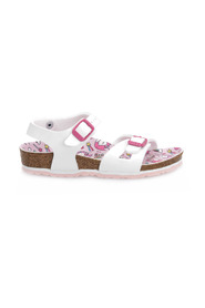 RIO PATENT UNICORN SANDALS