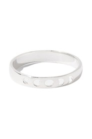 St Moon Phase Band R A J Sterling Rings