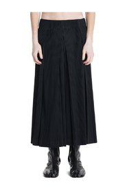 Plissé Pleated Hakama Trousers