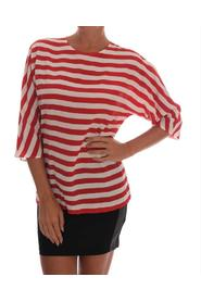 Striped Silk T-Shirt