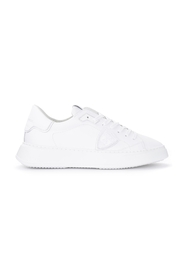 Temple L leather sneaker