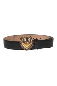 women's genuine leather belt  cuore devotion