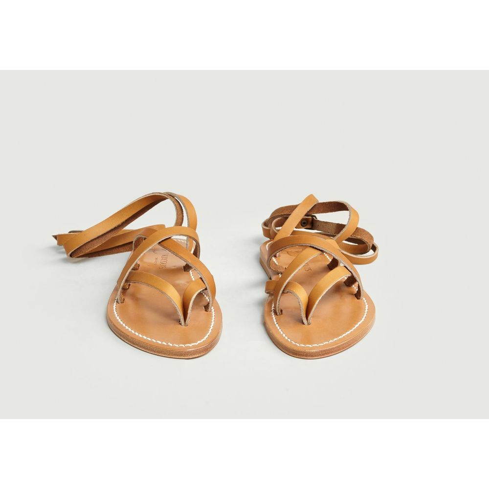 K.JACQUES Natural Zenobie Sandals K.JACQUES