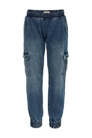 Cargohose Denim