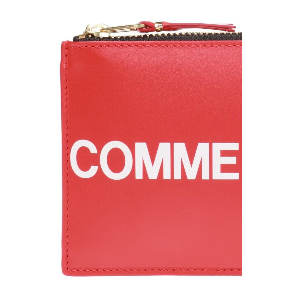 Comme des Garçons RED Logo-printed wallet Comme des Garçons