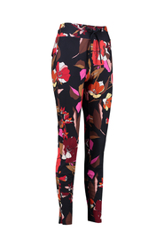 casual broek model Upstairs Flower trousers (03331)