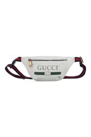 Logo Leather Belt Bag
