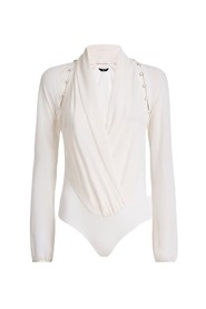 Marciano Daria Button Up Bodysuit