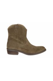 Short Boot Suede