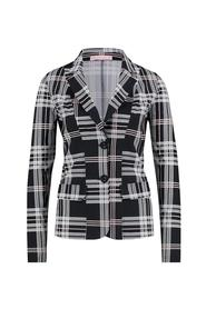 Close check blazer