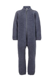 One-piece suit brused wool