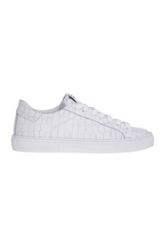 Sneaker in pelle stampa cocco