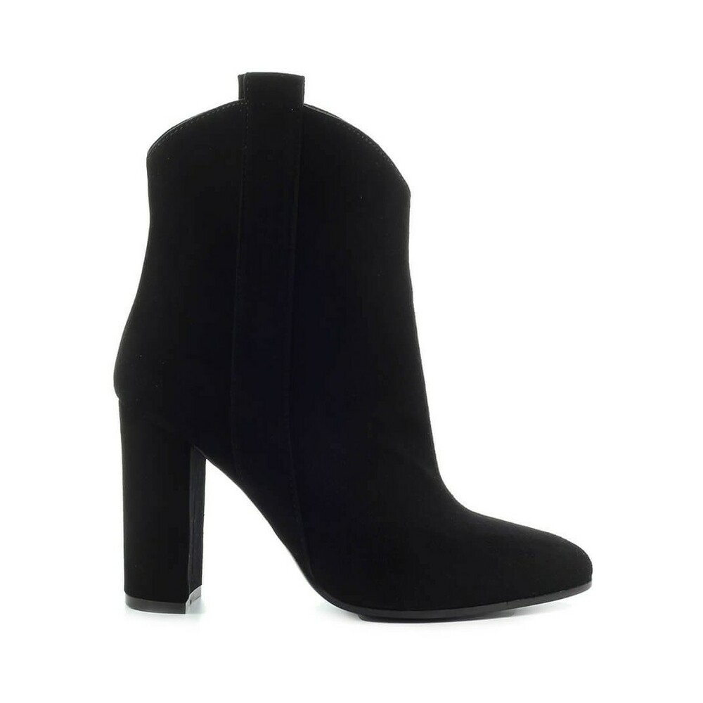 HEELED TEXAN ANKLE BOOT