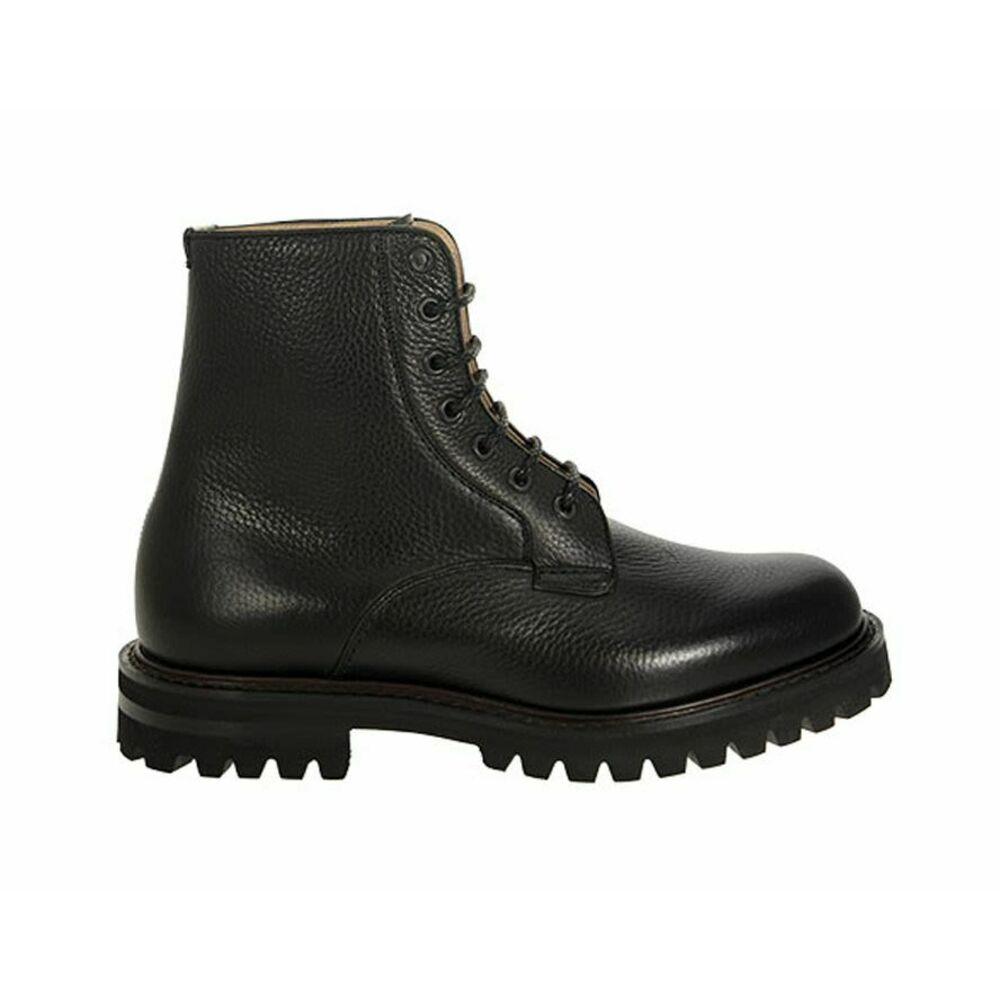 COALPORT 2 - Hammered leather lace-up boot