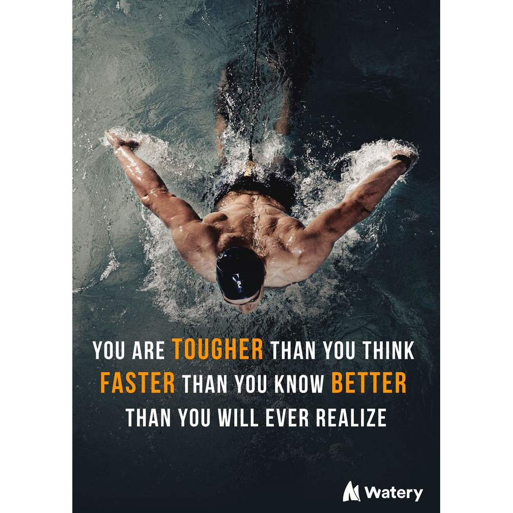 You are tougher, faster and better!