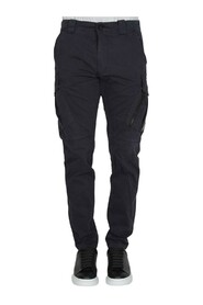 SATEEN TAPERED PANTS