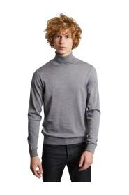 Merino wool turtleneck jumper