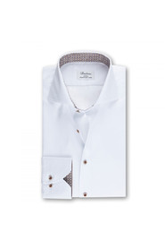 SLIM CONTRAST COLLAR SHIRT