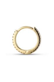 Tiny diamond hoops, 18 arat guld, 0,066 ct.