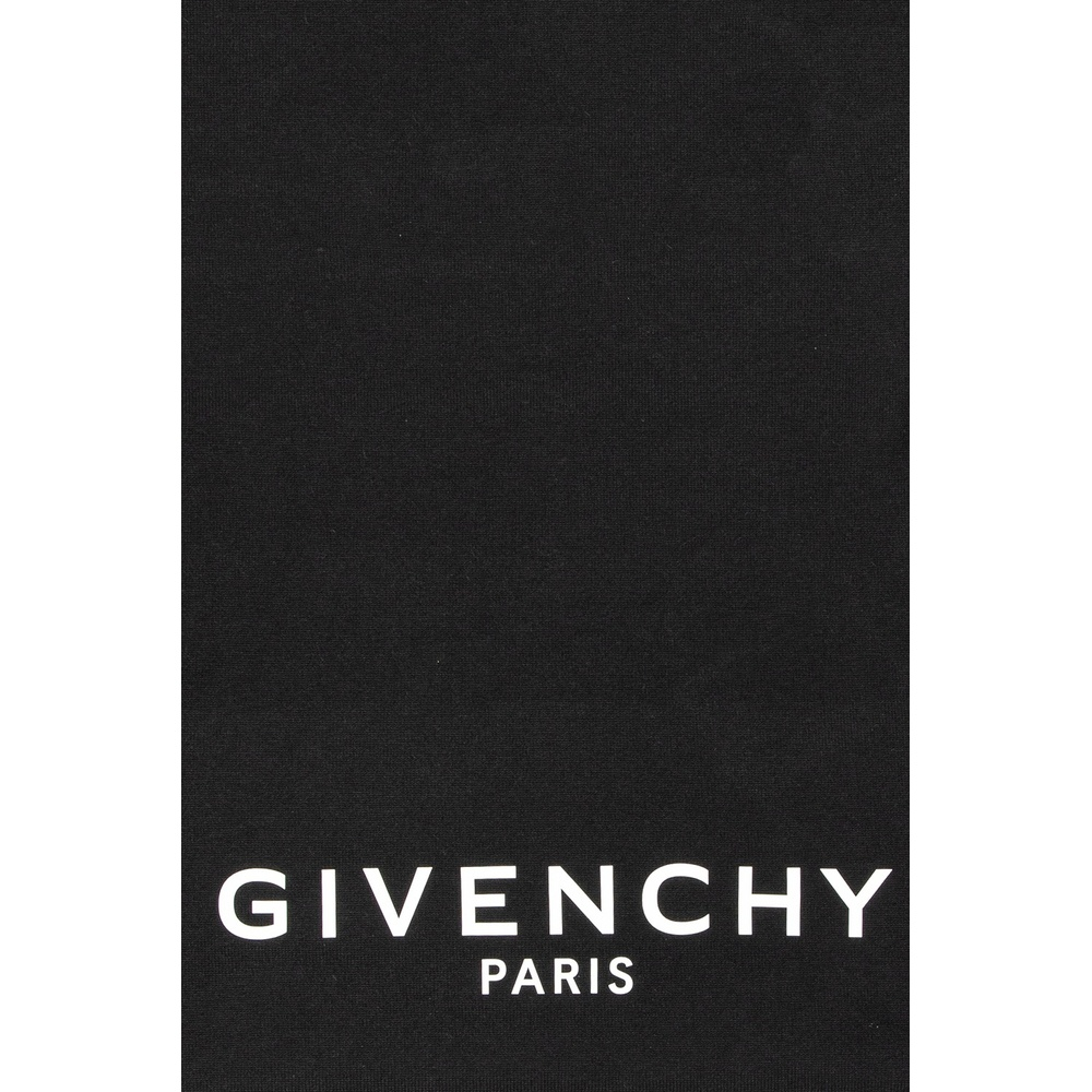 Black Scarf with logo | Givenchy | Sjaals | Heren accessoires