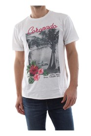 BOMBOOGIE TM5620 T JSSG T SHIRT AND TANK Men WHITE