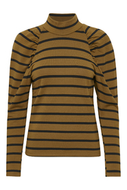 Rifella stripe turtleneck