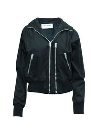 Jacket with Silver Zippers