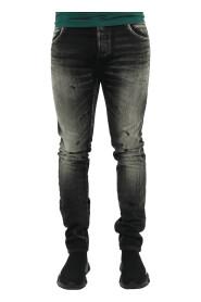 Selvedge Slim Jeans-Vi