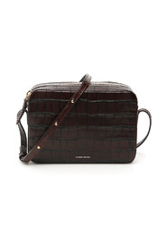 Double zip crossbody bag