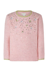 Sequin Knit Jumper Daywear Tops
