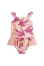Rosa Mini rodini pink swallows badedrakt