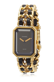 Gold Plated Quartz Premiere Chaine Watch Metal