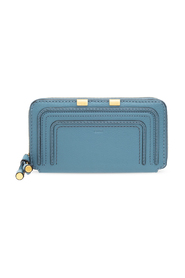 Marcie wallet with logo