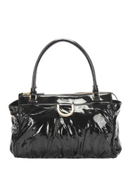 Pre-owned Abbey D-Ring Patent Leather Handbag
