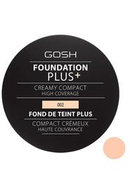 GOSH Foundation Plus+ Creamy Compact 002 Ivory