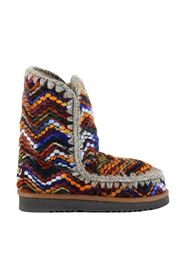 ESKIMO 24 Wool Fabric ankle boots