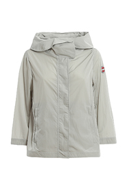 Packable Jacket With Wrinkle Effect