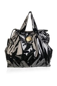 Patent Leather Hysteria Large Tote Shopping Bag