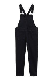 Lange overalls i denim