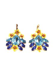Swarovski Crystal Embellished Earrings -Pre Owned Condition Excellent