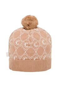 Wool and Cotton Hat with Logo