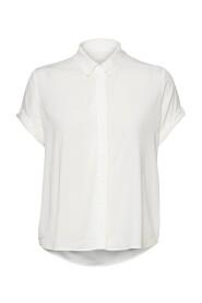 Samsoe Samsoe Majan SS Shirt Clear Cream