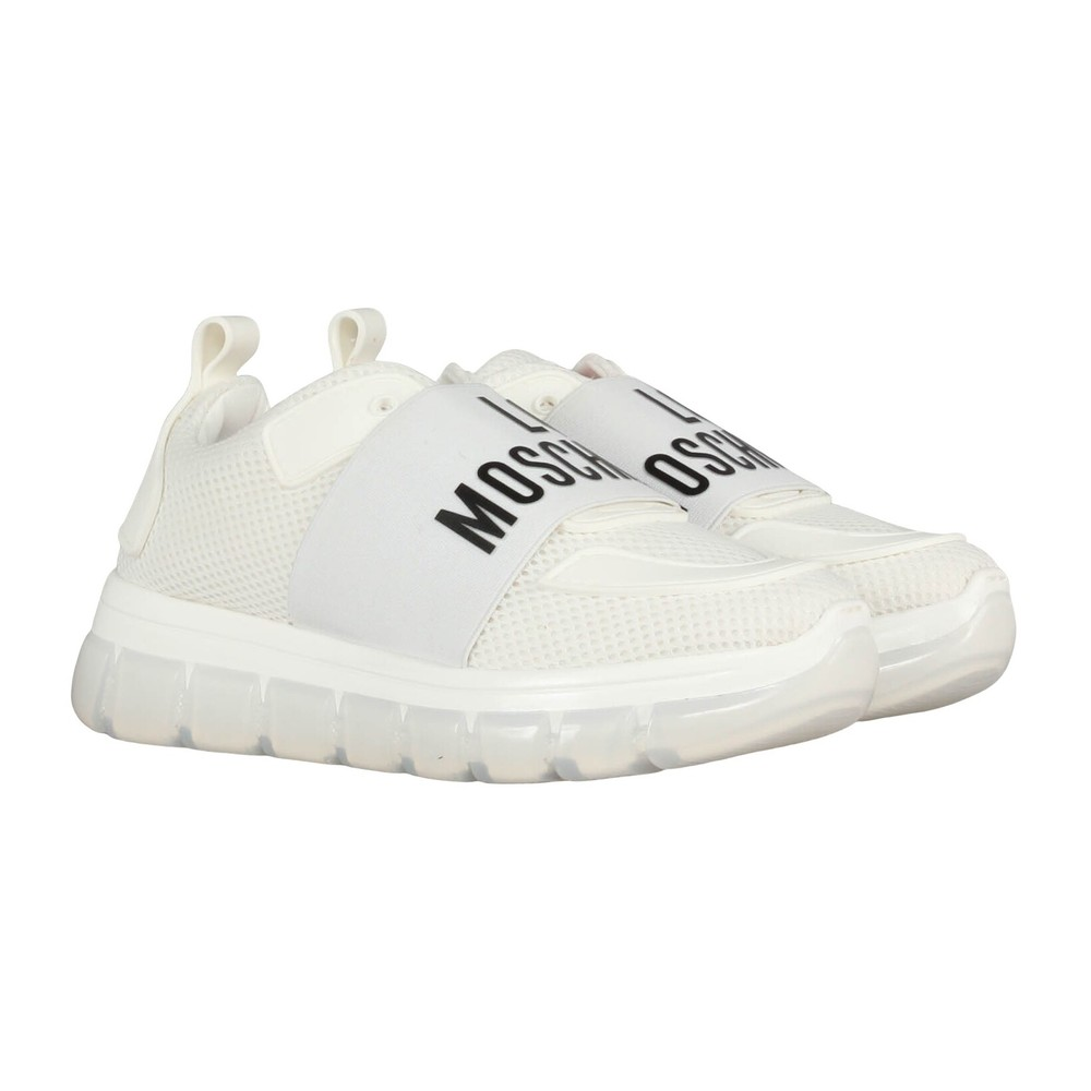 White Sneakers  Love Moschino  Sneakers