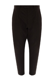 Tallis pleat-front trousers