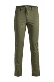 Slim fit chino MARCO BOWIE SA OLIVE NIGHT