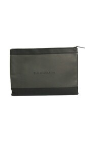 Pre-owned  Clip M 373834 Leather Clutch Bag