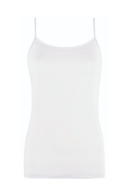 Hvit OROBLU - Perfect Line Top w/straps Ivory